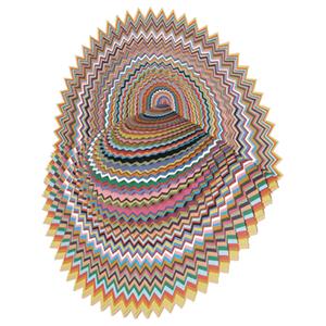 Paper cut sculpture