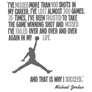 michael jordan failure