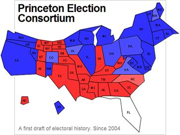 princeton election consortium