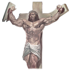 buff jesus by Boris Vallejo