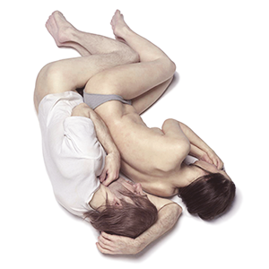 spooning by ron mueck