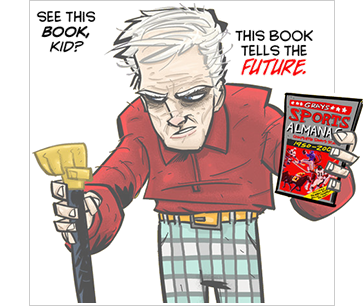 Grays Sports Almanac by justin peterson