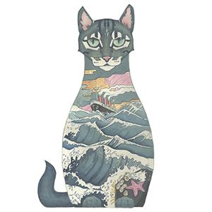 ships cat by Daniel Mackie