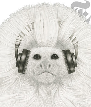 music for monkeys by Himi Kozue