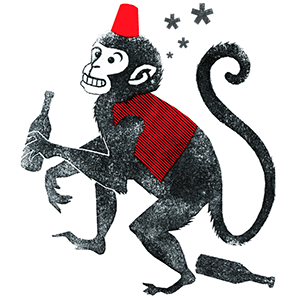 Drunken Monkey by Anna-Lina Balke