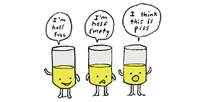 Pessimist by Jim Benton