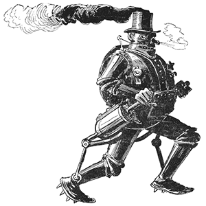 Steam Man of the Prairies