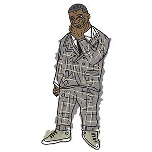 Gucci Mane in Thom Browne by Rebel Yuth
