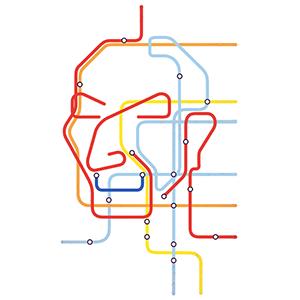 Massimo Vignelli by Davide Bonazzi