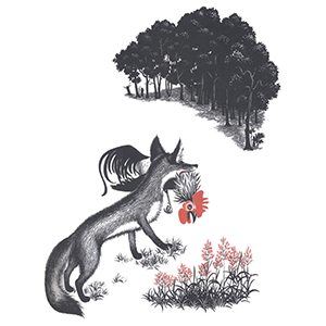 Chanticleer and the Fox by Barbara Cooney