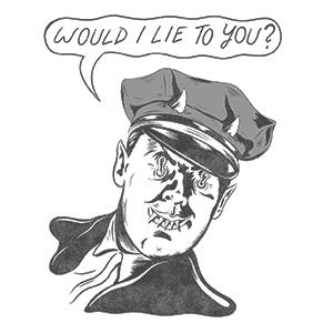 Brady Cop by Jaik Puppyteeth