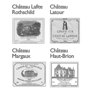 Bordeaux Wine Official Classification of 1855