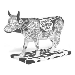 Brooklyn cow